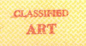 Classified art